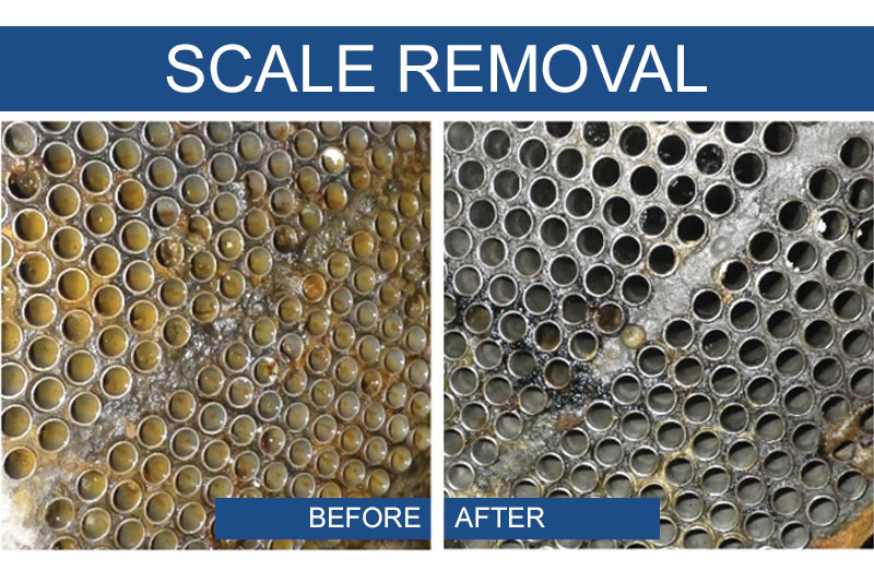 Scale Removal on Heat Exchangers